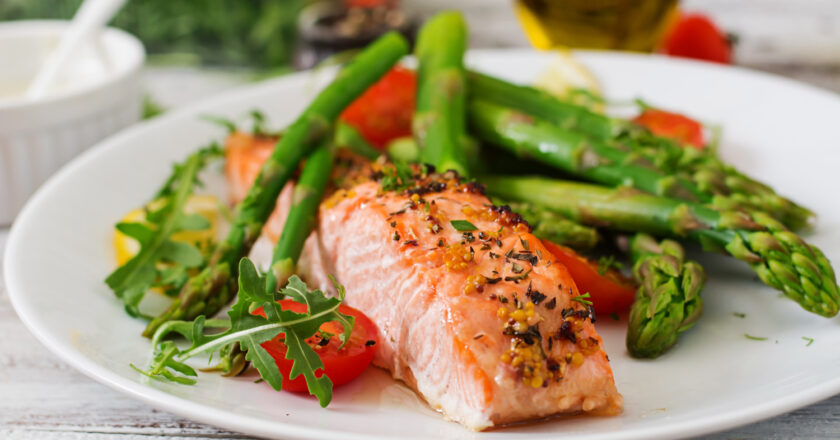 5 gode grøntsager til laks